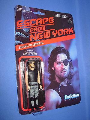 Snake Plissken Jacket FunKo Free Ship ReAction Figure Escape from New York