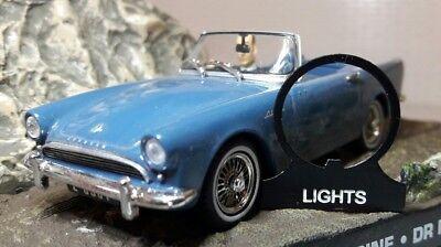 Sunbeam Alpine Tiger Dash OEM Lucas Toggle Switch /& Heater Blower Metal Tab Tag