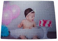 Personalised Jigsaw Puzzle,300 Pieces A3 sized, your Photo & Message ,great gift