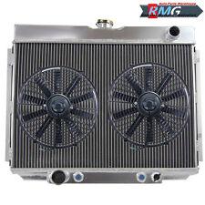 ALUMINUM RADIATOR FOR 1967-1970 FORD MUSTANG /RANCHERO /TORINO V8 1968 1969 +Fan