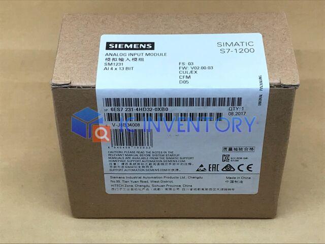 1PC NEW  Siemens 6ES7231-4HD32-0XB0 6ES7 231-4HD32-0XB0