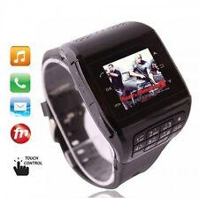 "Unlocked 1.33"" Touch Screen GSM QuadBand Q5 Watch Mobile Phone Bluetooth FM MP3"
