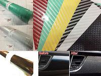 【airfree】2d Gloss Carbon Fibre Vinyl 5m(16.4ft)x0.75m(29.5in) Wrap Film Sticker