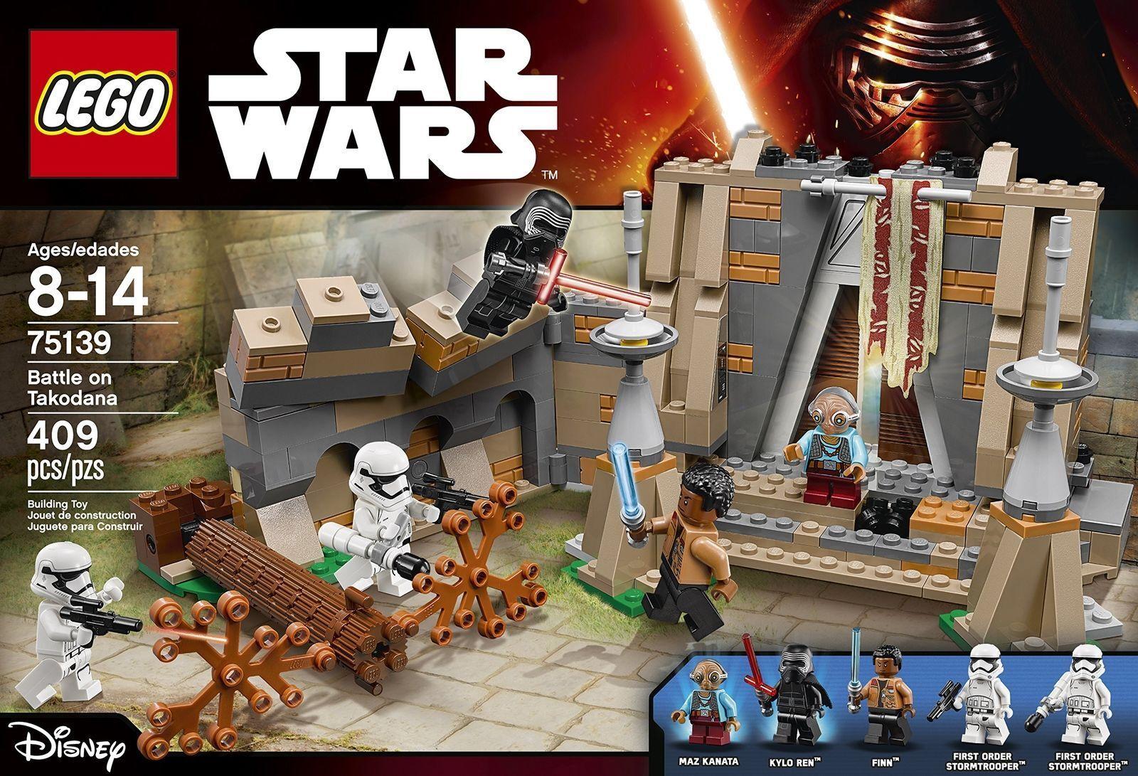 NIB MINT LEGO STAR WARS Battle on Takodana 75139 Discontinued NEW SEALED