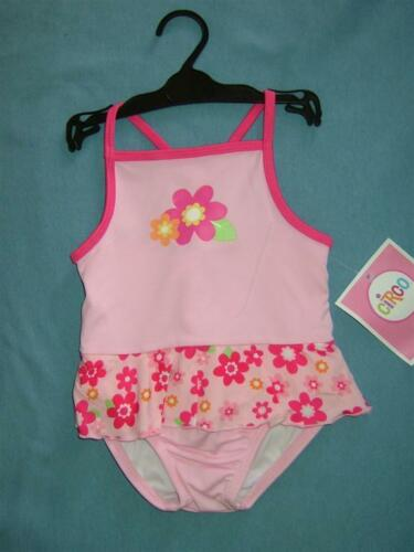 BABY GIRLS DOUBLE LAYERED BATHING SUITw//UV PROTECTION--NEW PRICE NWT Sz.12 MOS-