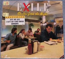 EXILE  Shelter From The Night  LP Record Shrink Wrap Showdown Just One Kiss