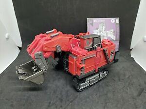 Construcción de la serie carroñero Transformers Studio