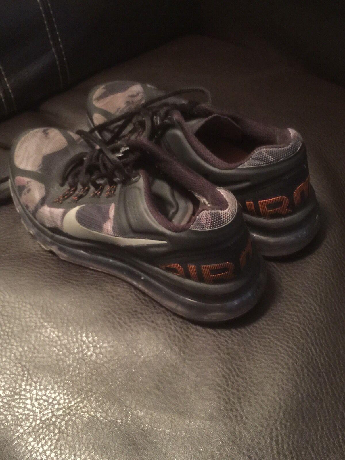 Nike Kids Air Max 2013 Gs Μαύρο / Κρύο Γκρι / Ξ£Ο…Ξ½ΞΏΞ»ΞΉΞΊΟŒ Πορτοκαλί (555426 002) SZ 3.5