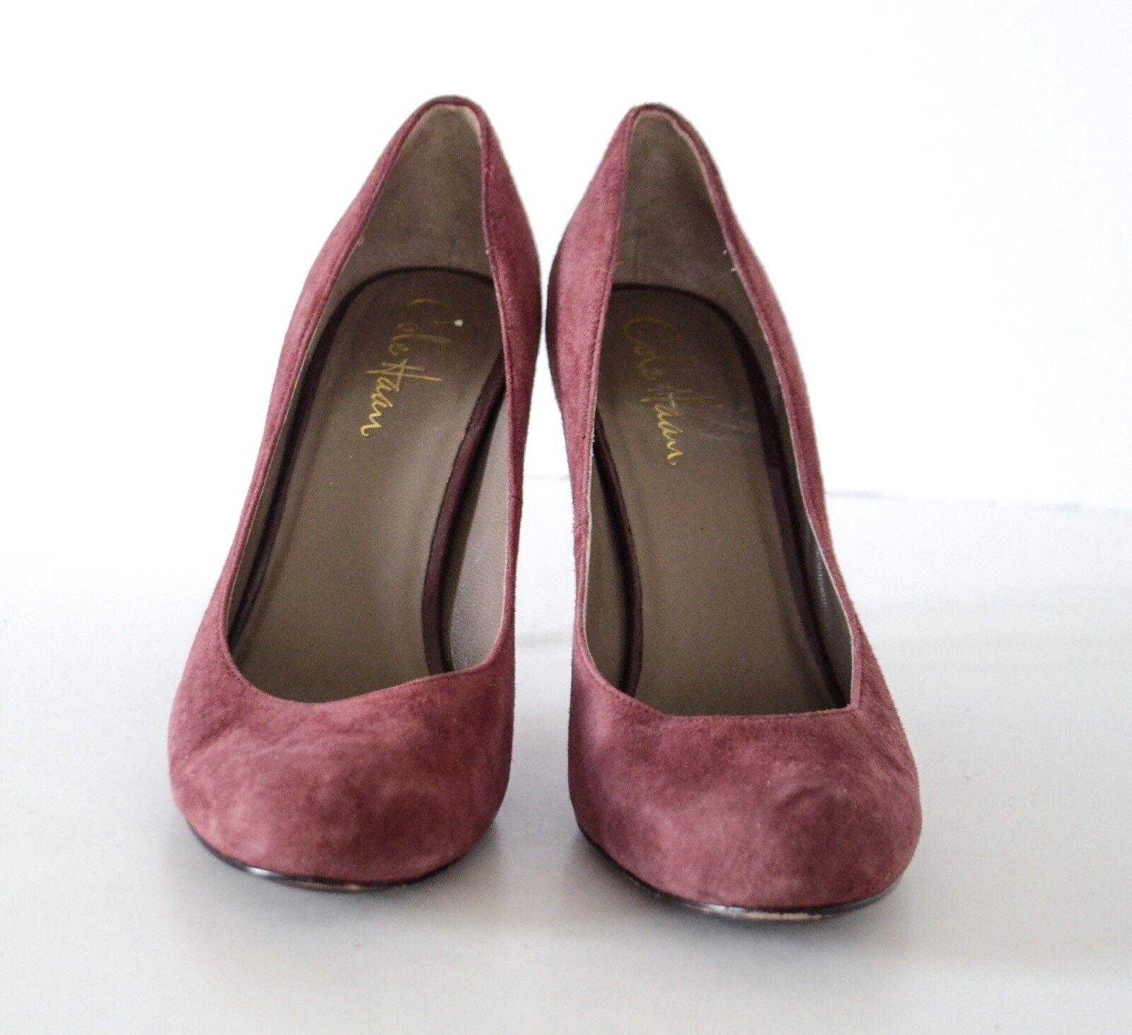Cole Cole Cole Haan Ciruela Gamusa Tacos Altos Zapatos De Salón 7.5B fb1d05