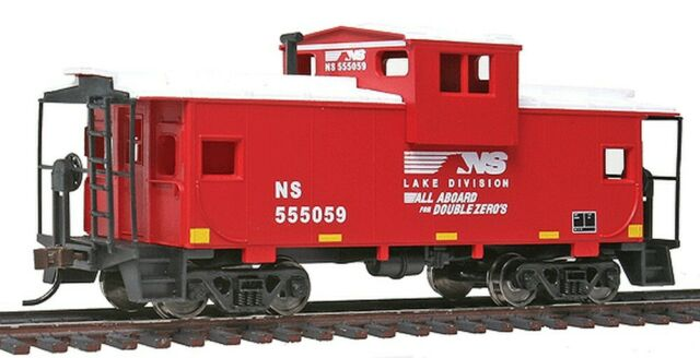 HO Walthers Norfolk Southern RY Lake Division Ohio Wide Vision Caboose Car Train for sale online