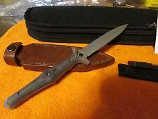 CUSTOM ALAN FOLTS LDE DAGGER AND BOKER LDE 02BO035 TWO KNIFE SET