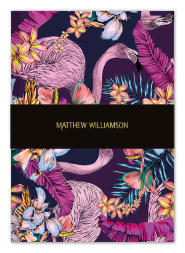 Matthew Williamson Flamingo Bay Deluxe Notebook