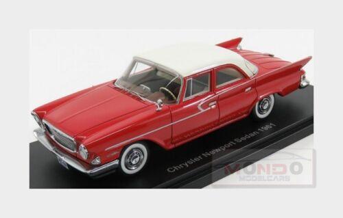 Chrysler Newport Sedan 1961 Red White NEOSCALE 1:43 NEO46460 Model