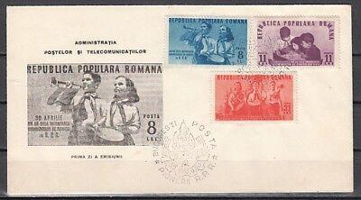 1 745-747 Ersttagsbrief Wohltuend FüR Das Sperma Scott Cat Rumänien Von Pioneers