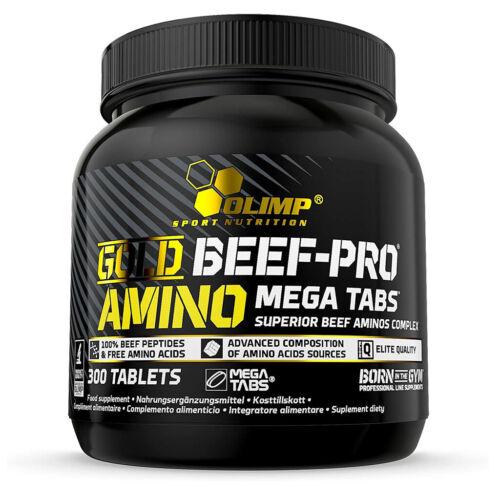 OLIMP GOLD BEEF-PRO AMINO MEGA TABS 300 TAV