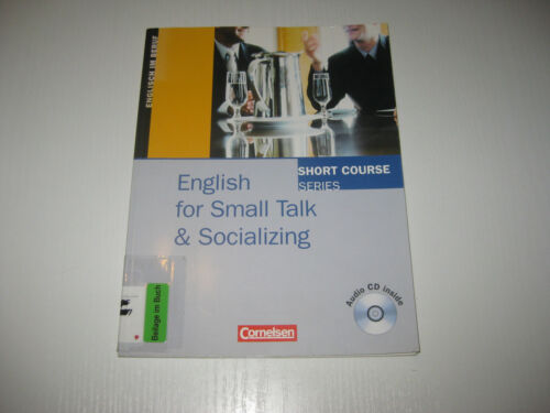 1 von 1 - Short Course Series. English for Socializing and Small Talk. Kursbuch mit CD von