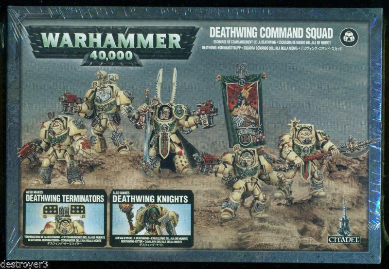 Warhammer 40k - dunklen engel todesschwinge kommando squad - neu - 44-10