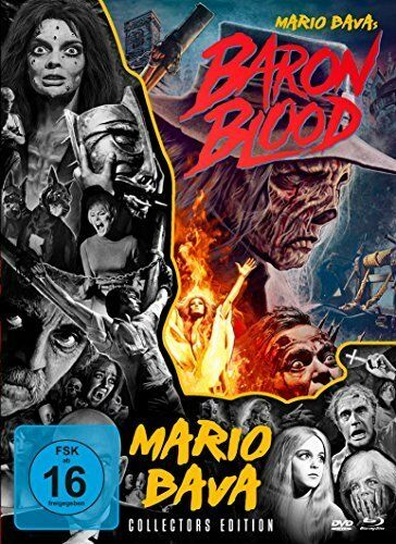 Baron Blood - Mario Bava Collection # 4 Collectors Ed. Blu-ray + DVD + Bonus-DVD