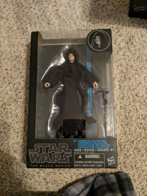 """Star Wars The Black Series No 11 Emperor Palpatine 6/"""" Inch Action Figure New Toy"""