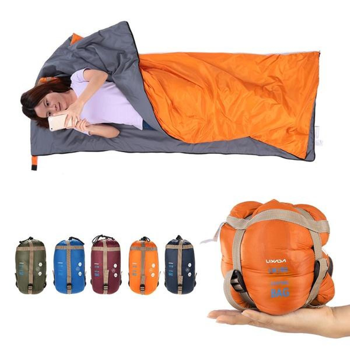 Ultra Lightweight &  Portable Envelope Sleeping Bag  order now with big discount & free delivery