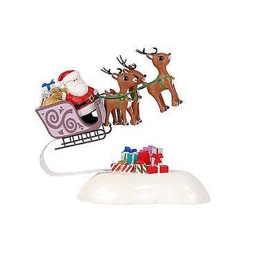 Dept 56 Rudolph With Your Nose So Bright Santas Sleigh Ebay