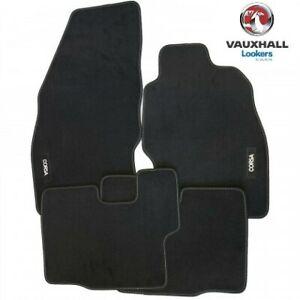 Genuine-Vauxhall-Corsa-D-E-Velour-Tailored-Carpet-Car-Mats-UKCVA005-2006-2019