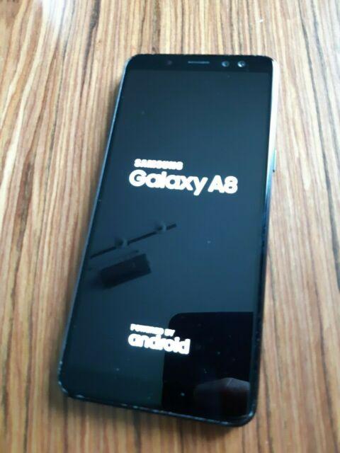 Samsung Galaxy A8 NOIR (2018) A530F/DS - 4GB RAM et 32 Go Memoire - Double SIM.