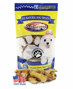 Shadow River JUMBO Bully Bites for Dogs - 100% USA Beef Bully Stick Pieces 1lb