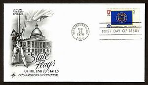 #1677 13c Utah, Art Craft-bicentennial Premier Jour Any 4 =