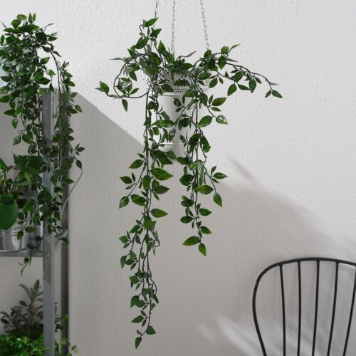IKEA FEJKA Artificial Potted Ivy Plant Flowers Indoor /& Outdoor Green Leaves Pot