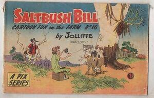 SALTBUSH-BILL-No-16-FINE-CONDITION-1950s-ORIGINAL-AUST-COMIC