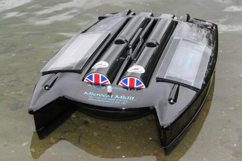 Angling Technics Microcat baitboat, Wright Tackle Hopper Topper Hopper copre