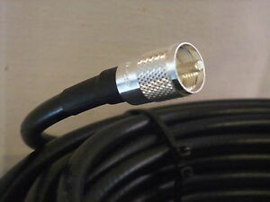 Times-Microwave-LMR-400-Low-Loss-Coaxial-Cable-15ft-Jumper-N-Male-PL-259
