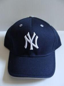 Nuevo Con Etiquetas Niños Nueva York New York Yankees Gorra De Béisbol Equipo Azul Marino Ajustable Chicos 100 Algodón Ebay