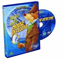 Basil The Great Mouse Detective DVD Walt Disney Animated Cartoon Movie Film NEW