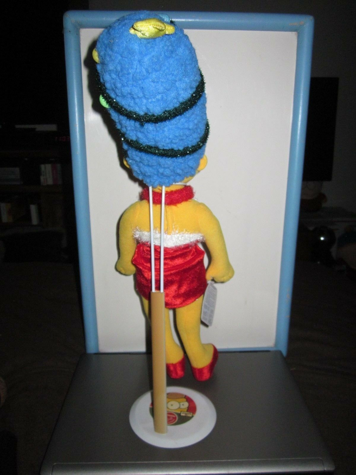 THE THE THE SIMPSONS 18  CHRISTMAS MARGE LIGHTS STAND PLUSH TOY DOLL FIGURE BY APPLAUSE 6e7168