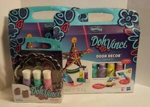 HASBRO 6+ Brand New Play Doh Doh Vinci Door Hanger Kit bx14