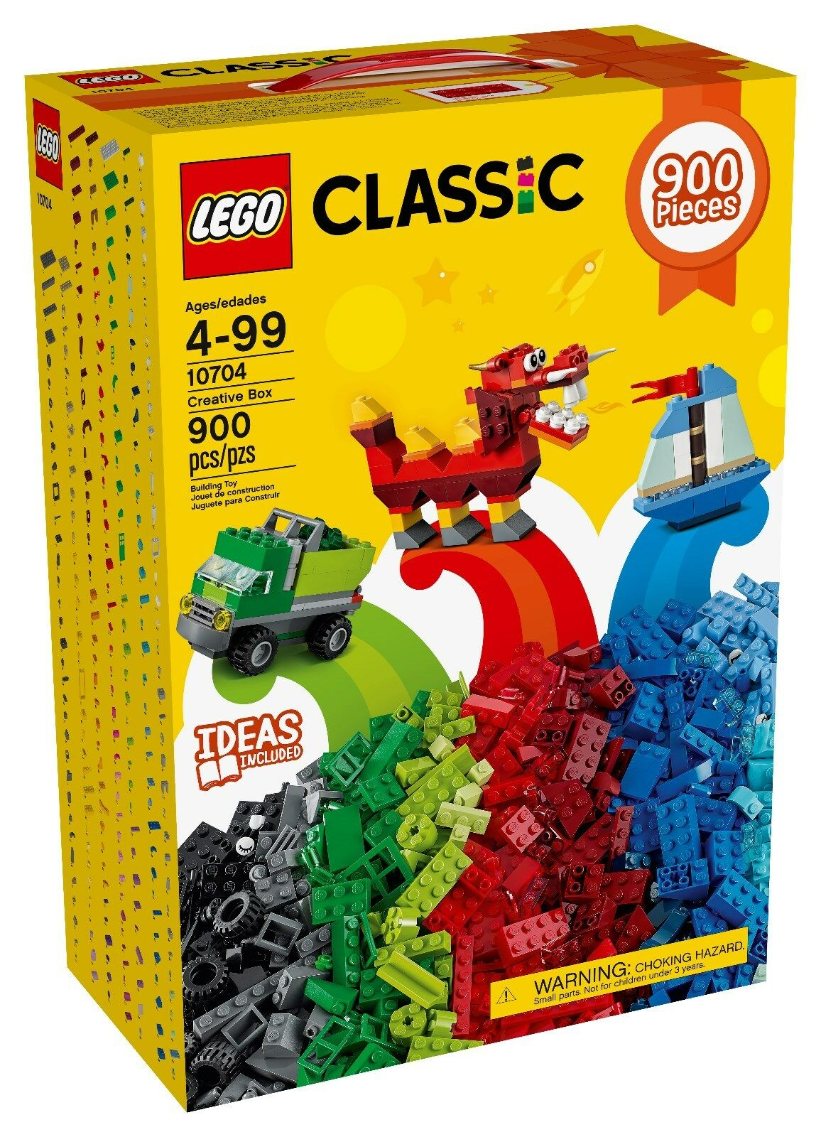 LEGO  LEGO classeic Creative scatola 10704  negozio outlet