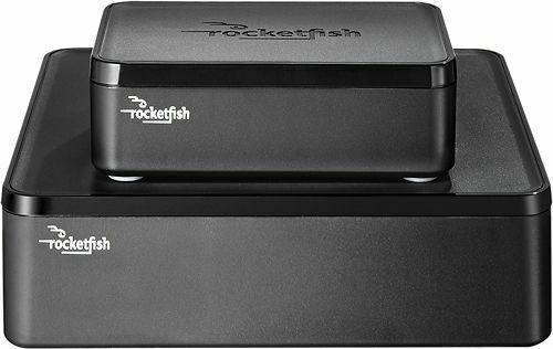 Rocketfish RF-WHTIB Receiver Universal Wireless Black Rear Speaker Kit for  sale online  eBay