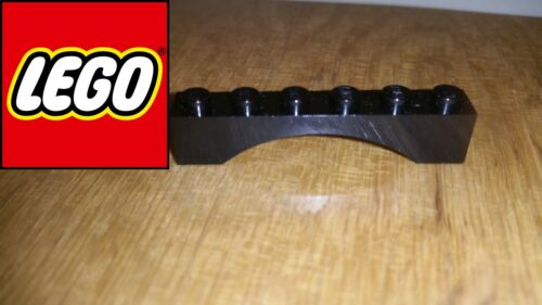 LEGO Arch Black 1x6 Part 3455 New