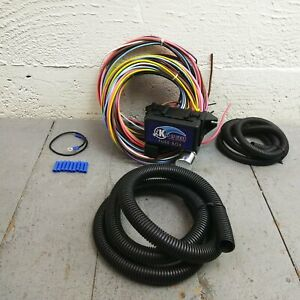 details about 1964 1966 ford mustang 8 circuit wire harness fits painless compact new kic Painless Wiring Harness Chevy Truck