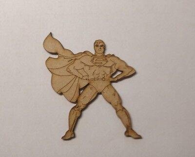 5xWooden batman mdf laser cut 7cm  character blank