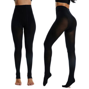 28c520e59365c Image is loading Lady-Women-Plus-Size-Tights-High-Elastic-Pantyhose-