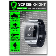 ScreenKnight Samsung Galaxy Gear 2 SCREEN PROTECTOR invisible military shield