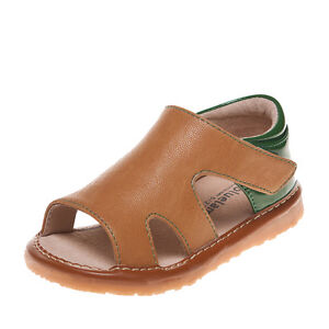 Kids Squeaky Shoes Camel