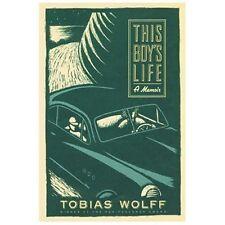 This Boy's Life : A Memoir by Tobias Wolff (2000, Paperback, Reprint)