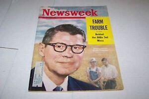 MAY-14-1962-NEWSWEEK-magazine-AGRICULTURE-FREEMAN