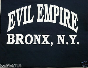 New York Yankees EVIL EMPIRE Bronx NY T-Shirt Boston Red Sox Rivalry ... 5da8929a50c