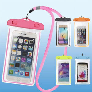 Details About Underwater Waterproof Bag Pack Dry Phone Pouch Clear Case For Iphone And Samsung