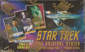 Star Trek The Original Series Season 3 - RARE Fleer / Skybox Sealed Box